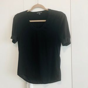 NWOT rare James Perse 1 high low short sleeve top